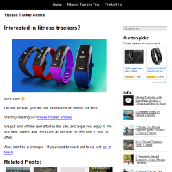fitness trackers website thumbnail