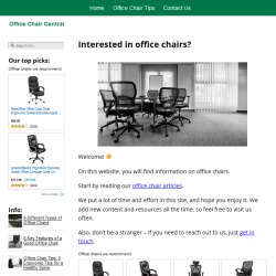 office chairs website thumbnail