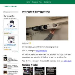 projectors website thumbnail