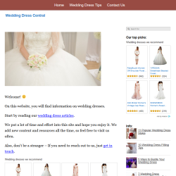 wedding dresses website thumbnail