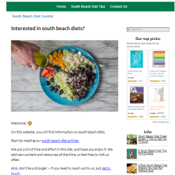 south beach diet website thumbnail